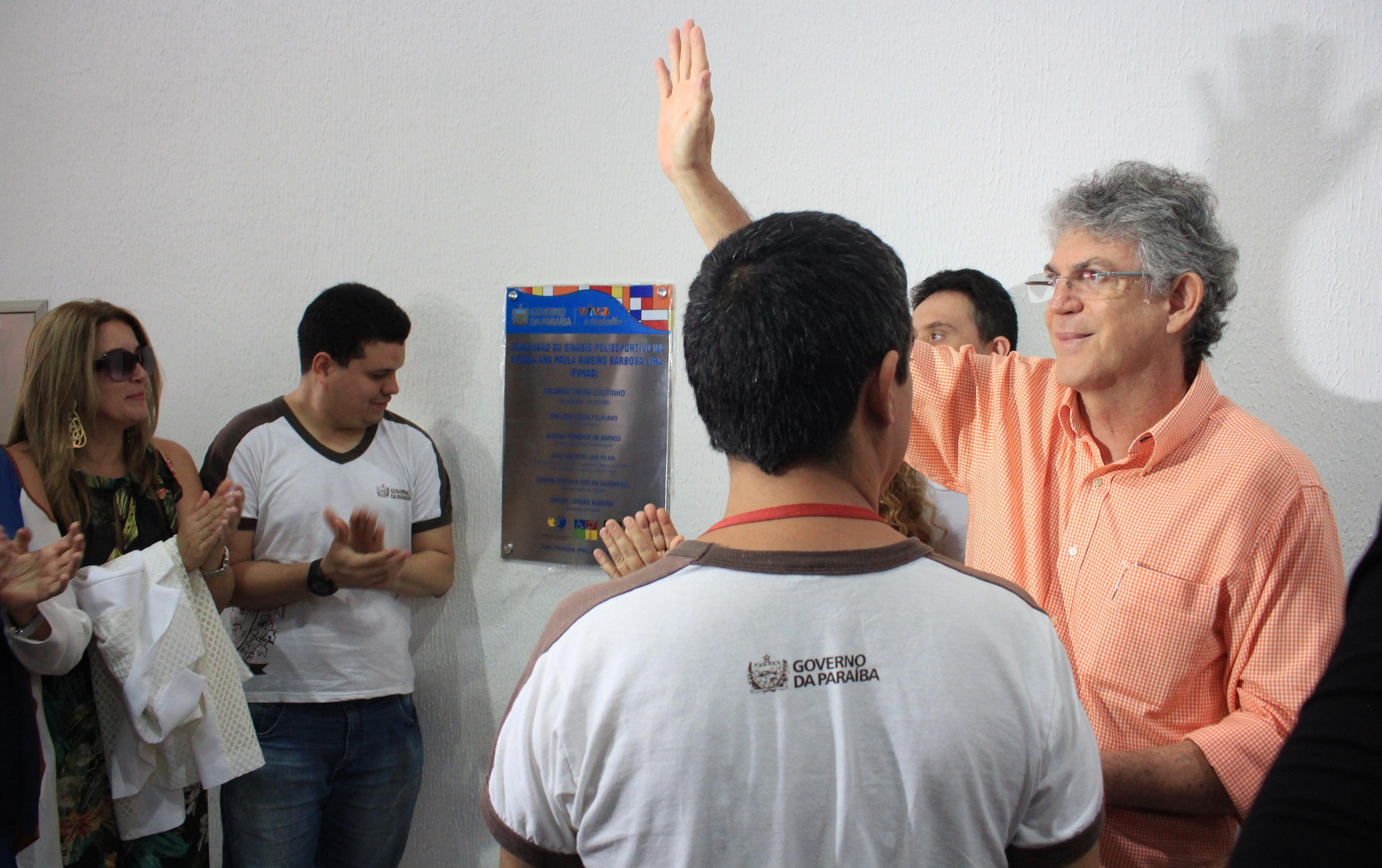 Ricardo Coutinho inaugura série de obras em homenagem ao aniversário de João Pessoa