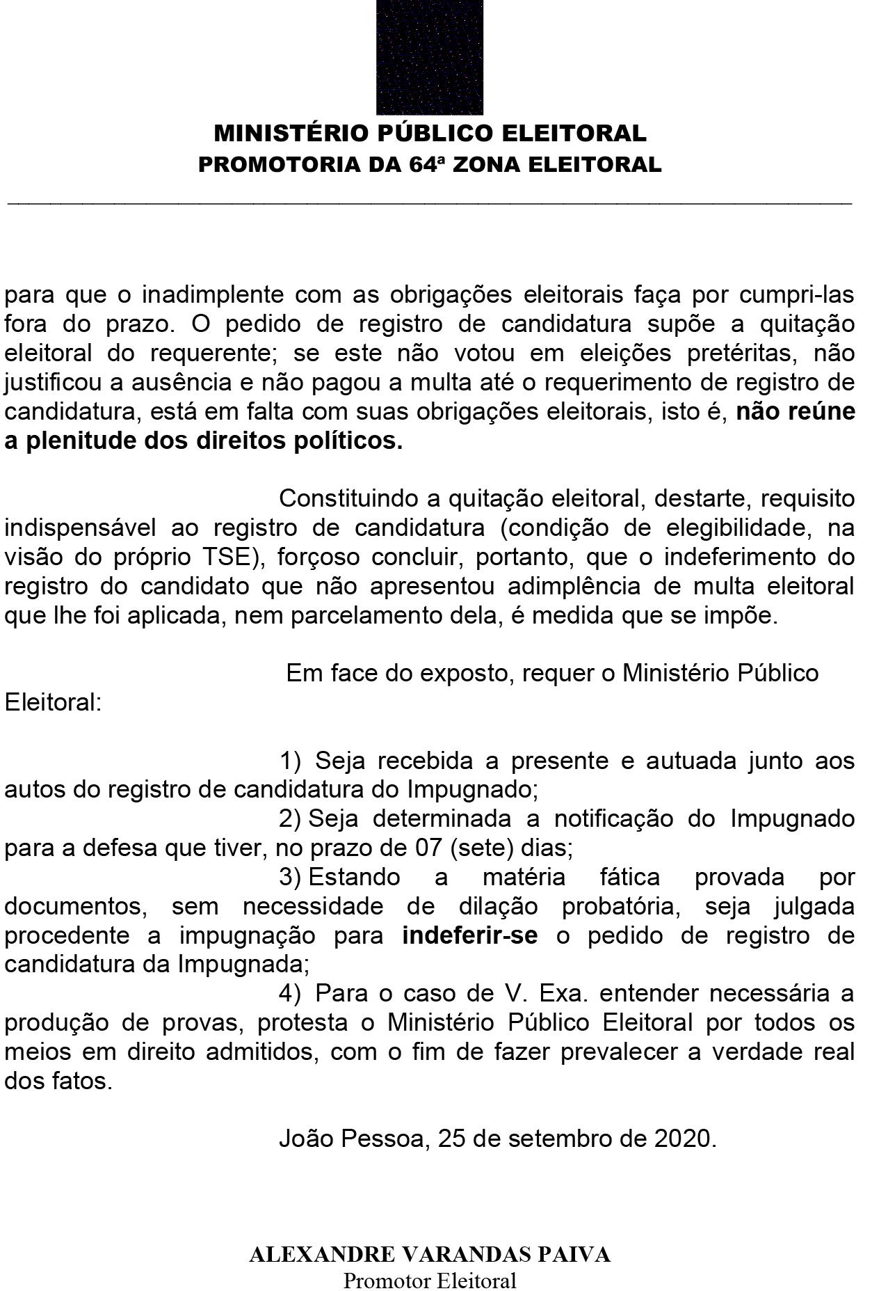 airc_ricardo_coutinho_1-3 Ministério Público da Paraíba pede impugnação da candidatura de Ricardo Coutinho a prefeito de João Pessoa