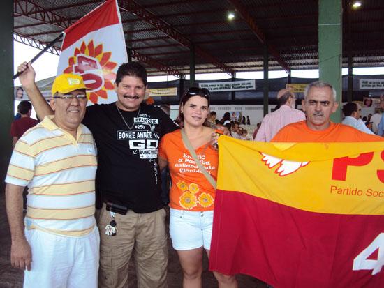 Foto de Rômulo Gondim na campanha de RC