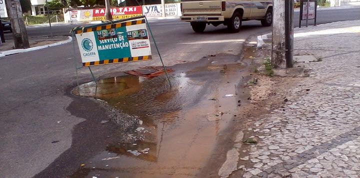 Desperdício de água